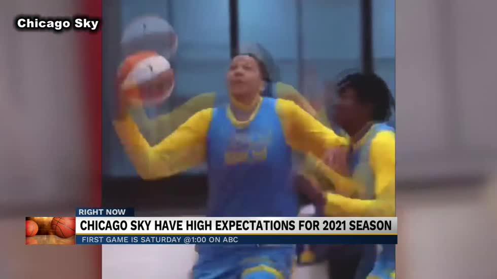 Chicago Sky looking to make leap forward in 2021
